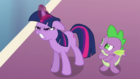 Twilight straining S3E2