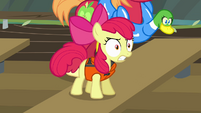 "Apple Bloom angry ""hey!"" S4E09"