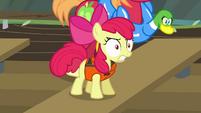 "Apple Bloom angry ""hey!"" S4E09"