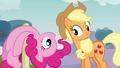 Applejack greets Pinkie S3E3.png