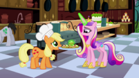 Cadance taking the bag S2E25