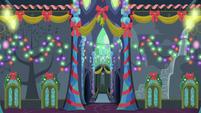Castle of Friendship fully lit S6E8