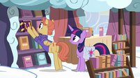 Cloudsdale bookseller puts journal on the shelf S7E14
