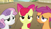 Cutie Mark Crusaders disappointed S6E4