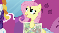"Fluttershy ""the colors of beautiful trees"" S7E5"
