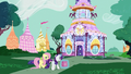 Fluttershy and Rarity return to the boutique S6E11.png