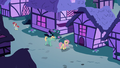 Fluttershy and Zephyr walk through Ponyville S6E11.png