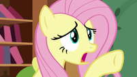 Fluttershy super-worried about Angel S7E5
