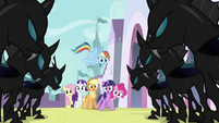Main 6 facing the changelings S2E26