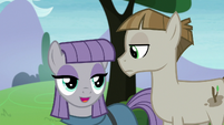 "Maud ""permineralization process of petrification"" S8E3"