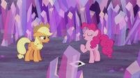 "Pinkie Pie ""I get to raise the flag"" S5E20"