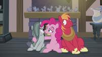 Pinkie Pie -wish Big Mac a happy Hearth's Warming- S5E20