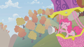Pinkie Pie announcing from a hot air balloon S1E13.png