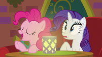 Pinkie interrupting --yes, please!-- S6E12