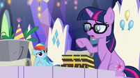 Pony Sci-Twi realizing what she's saying EGSB