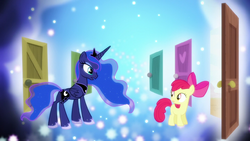 "Princess Luna ""it's been a busy night for us all"" S5E4"