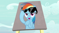 "Rainbow ""my confidence comes off as cocky"" S7E14"