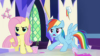 Rainbow --accusing us of not being able to tell-- S5E22