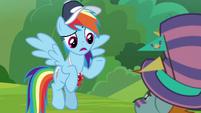 "Rainbow Dash ""what do you mean?"" S9E15"