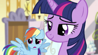 Rainbow Dash and Twilight S2E23