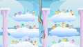 Rainbow Dash diving Derpy Hooves clones S1E16.png