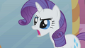 Rarity dissapproves S01E10.png