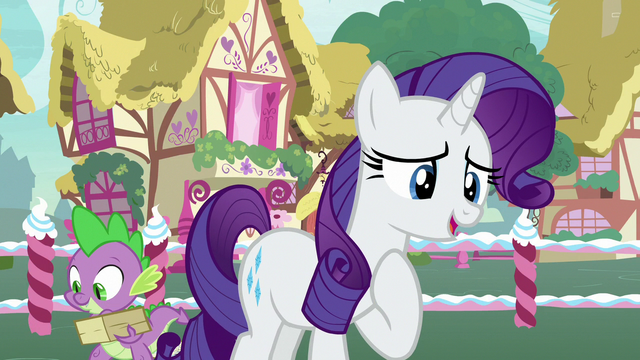 File:Rarity thanks Pinkie Pie for the compliment S7E9.png