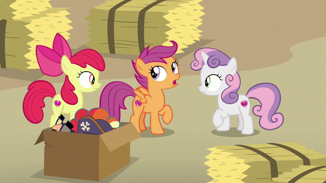 "File:Scootaloo ""you saw how shifty he was acting"" S7E8.png"