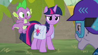 """Spike """"we're not actually here"""" S9E5"""