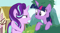 Starlight Glimmer --you meant I don't trust you-- S6E6