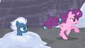 Sugar Belle gallops past Night Glider S5E2.png