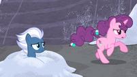 Sugar Belle gallops past Night Glider S5E2