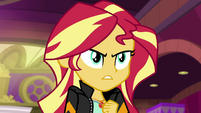 Sunset demands to know where her friends are EGS3