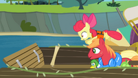 The Apples trying to get the map S4E09
