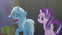 Trixie laughing spitefully S6E6