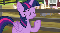 Twilight --it's just feeding the pigs-- S6E10