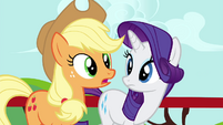 "Applejack ""What is it, Twilight?"" S4E21"