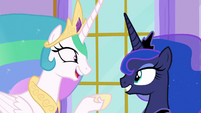 "Celestia ""take turns doing what we like!"" S9E13"