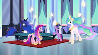 Celestia -just now gained enough strength- S4E25