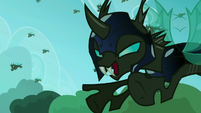 Changelings fly to attack S5E26