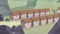 Equality village exterior shot S5E1