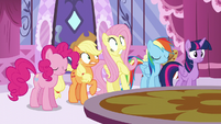 Fluttershy looking scared S6E9