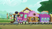 Friendship Express at Ponyville Station S9E22