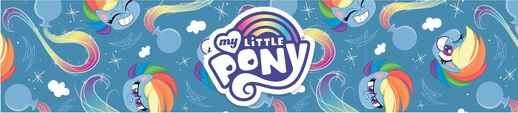 MLP Pony Life Amazon.com Rainbow Dash banner