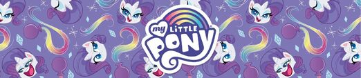 MLP Pony Life Amazon.com Rarity banner
