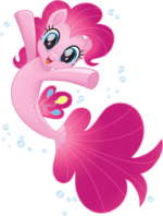 MLP The Movie Seapony Pinkie Pie official artwork