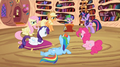 Main 6 ponies glaring at Spike S2E3.png