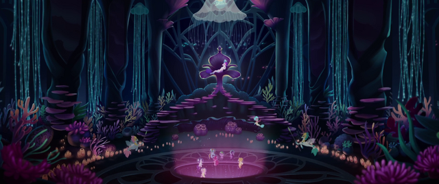 File:Mane Six enter the Seaquestria throne room MLPTM.png
