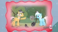 Pinkie Pie's dad and Trixie