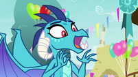 Princess Ember -lots of '-lights' and shiny things- S7E15